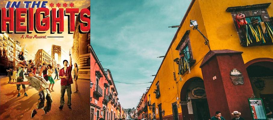 In The Heights at California Theatre Of The Performing Arts